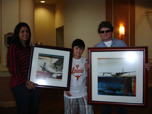 Aviation Art On Display at Banyan