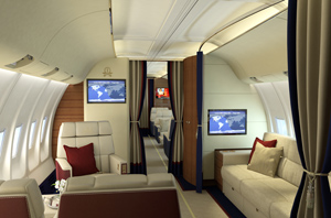 Banyan Avionic's to outfit a private Boeing 737-500 series aircraft with the latest in InFlight Entertainment (IFE)