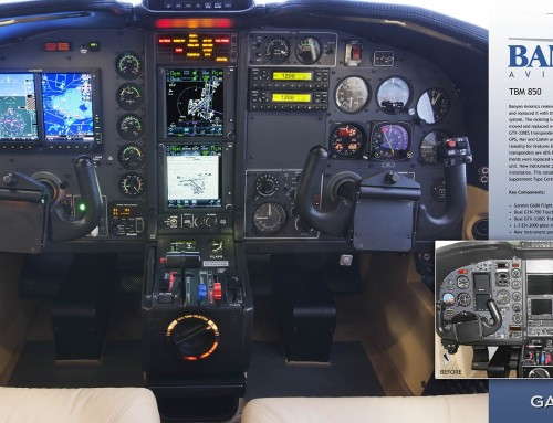 Avionics Update: TBM 850 Before and After