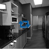Coffee Bar & Vending Machines Black & White