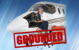 FAA Mandate Corporate Jet Grounded