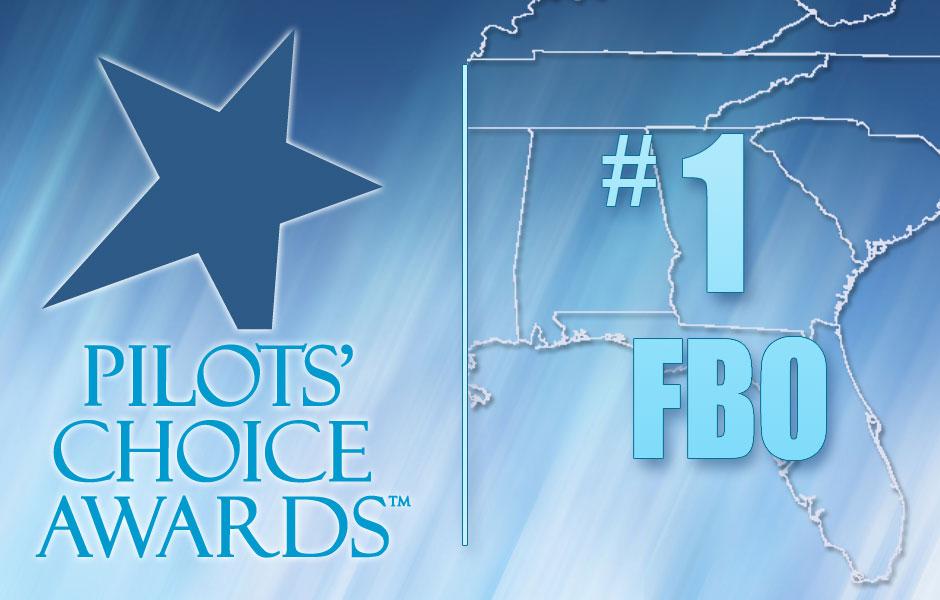 Banyan South Florida FBO #1 Pilots Choice Award