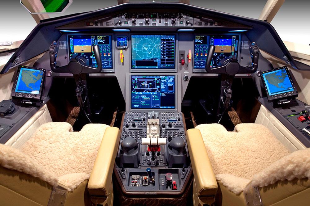 Falcon avionics panel installation