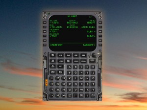 flight management system for corporate jet