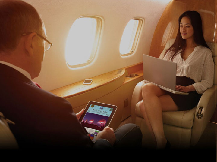 WiFi and high speed Internet for aircraft
