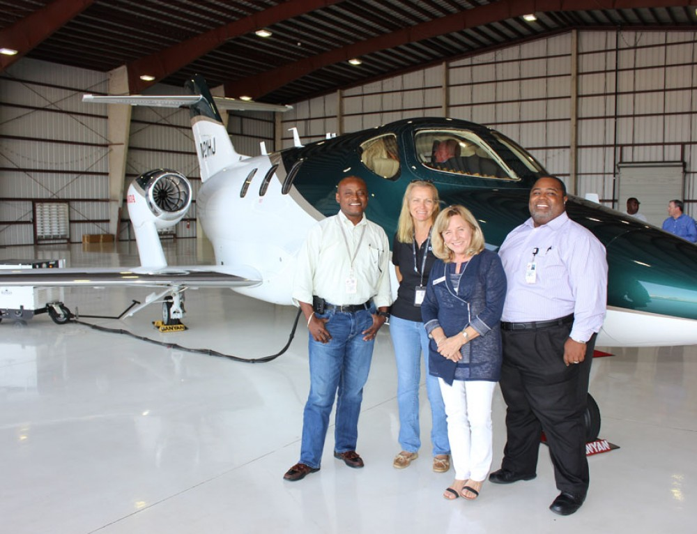 HondaJet Open House Event