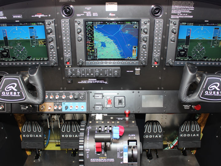 Avionics installation - glass cockpit
