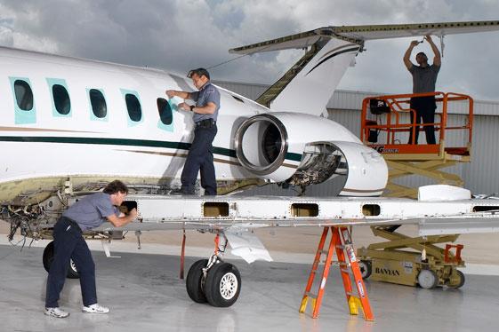 Hawker Maintenance and Parts