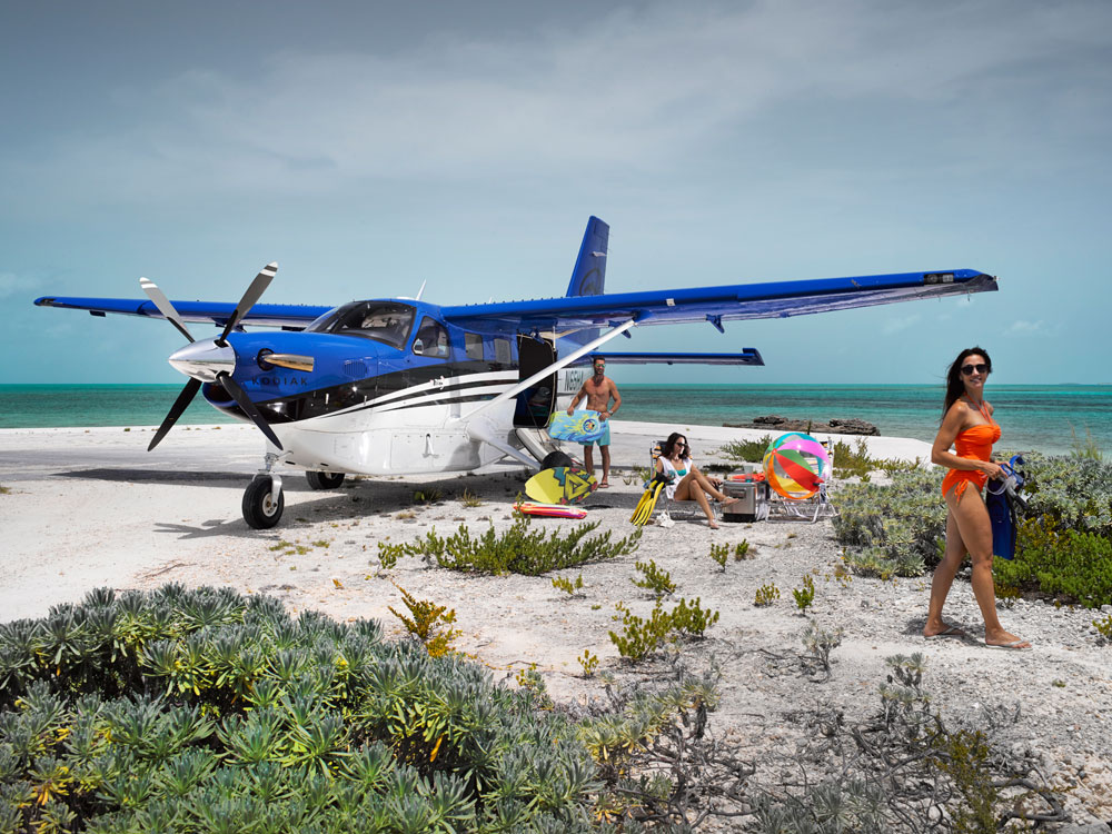 Quest Kodiak on beach