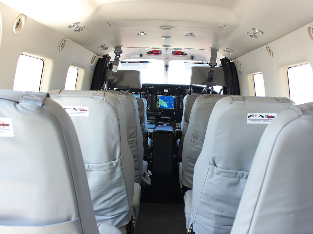 Quest Kodiak cabin forward