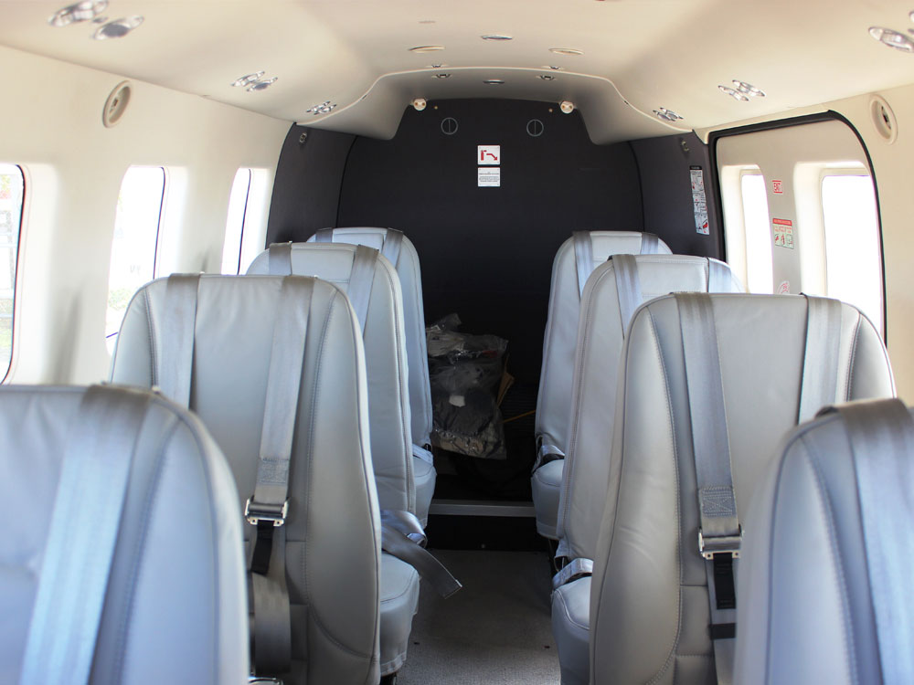 Quest Kodiak cabin aft
