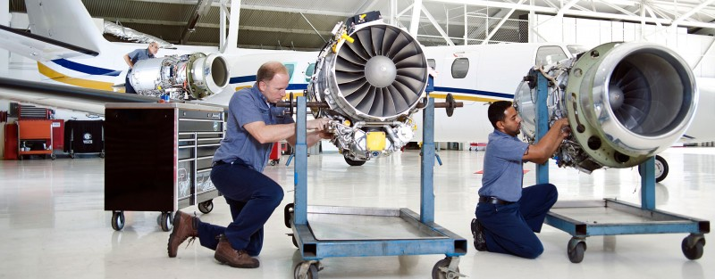 aircraft jet maintenance