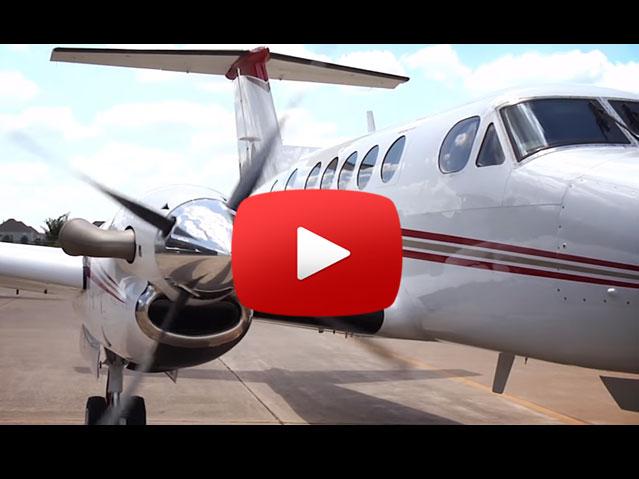 Blackhawk King Air 200 performance video