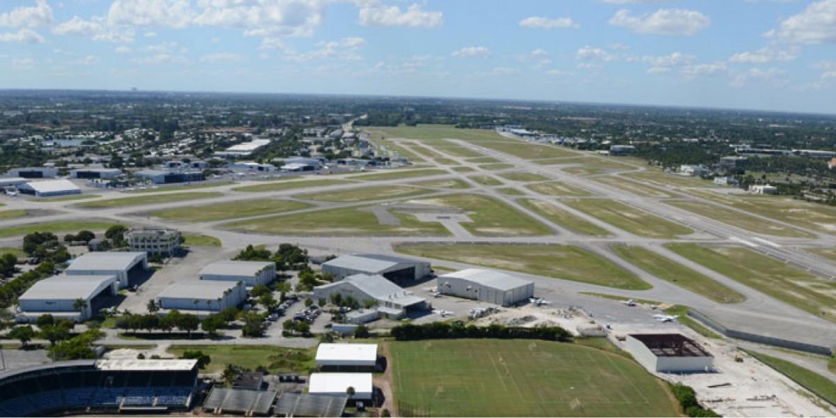 fxe airport aerial