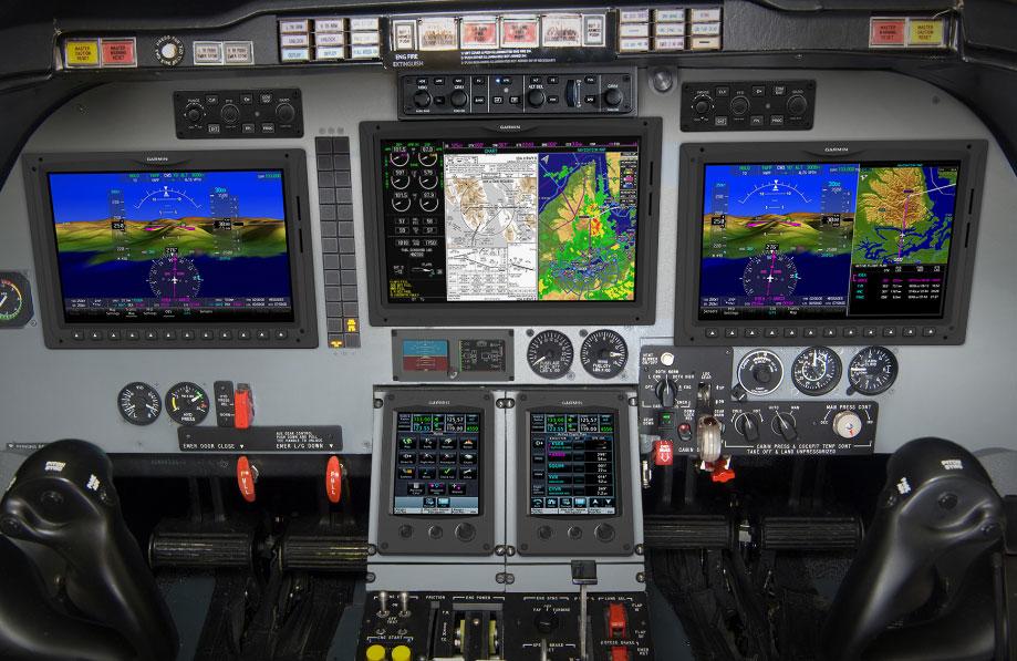 garmin g5000 retrofit for beechjet and king air