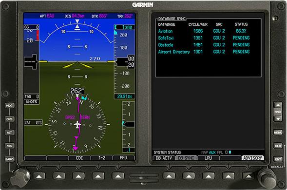 Garmin Flight Stream 510 SD Card Slot