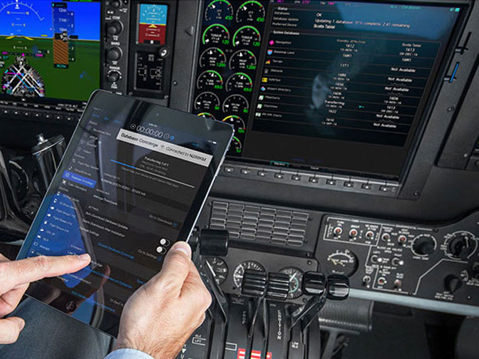 Garmin G1000 NXi Connext Cockpit Connectivity