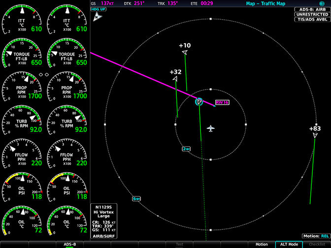 Garmin G1000 NXi get traffic, weather and more