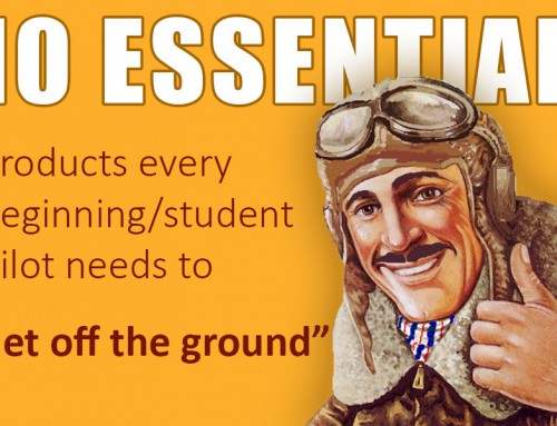10 Essential Products for Beginning Student Pilots