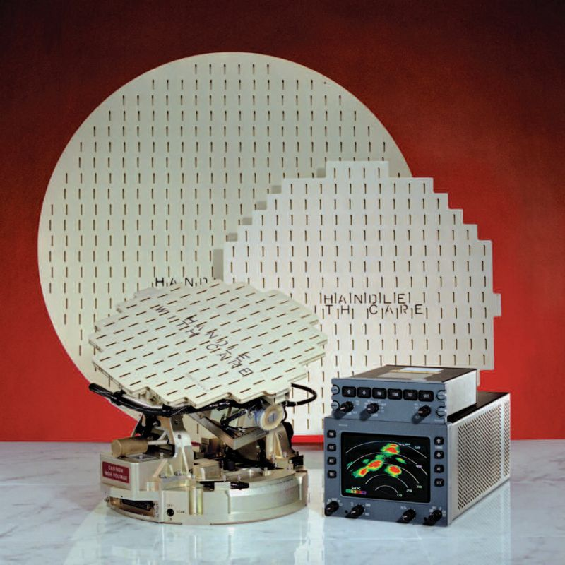 Honeywell Primus 660 and 880 weather radar