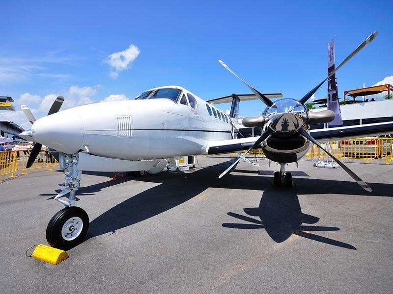 King Air on Tarmac