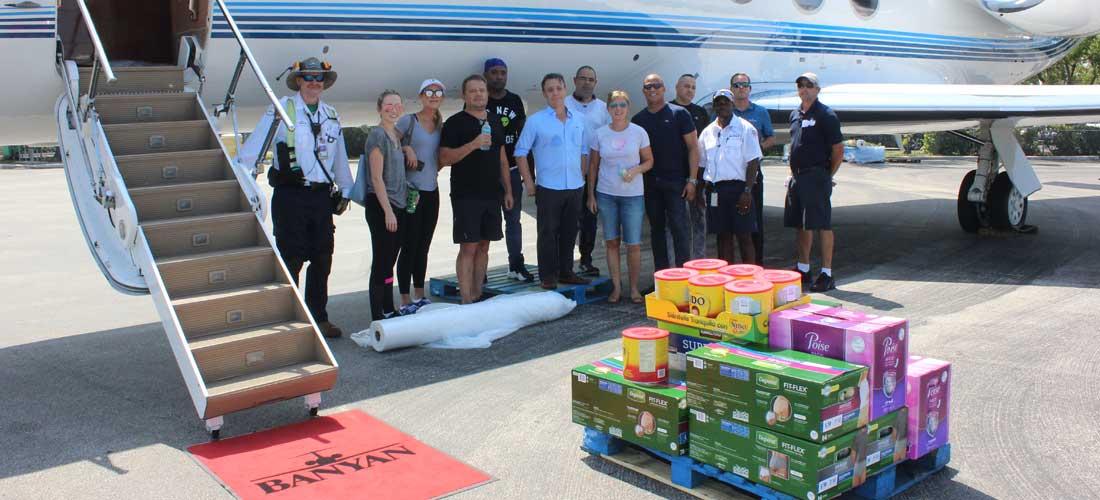 Banyan hurricane relief