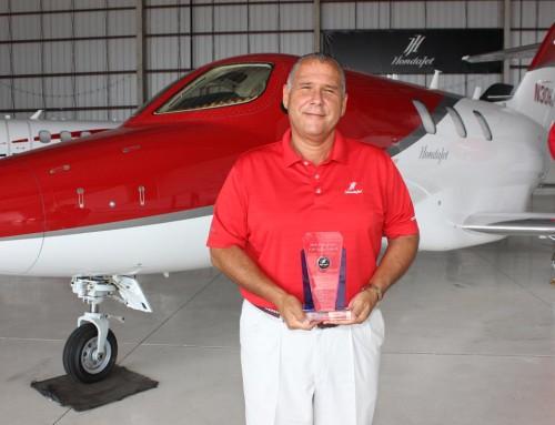 Gibson Receives Top HondaJet Sales Award
