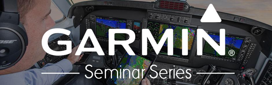 Garmin Seminar Series Banner
