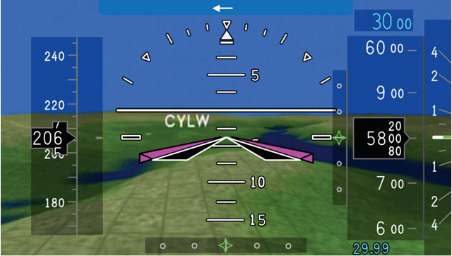 Proline 21 Challenger Synthetic Vision