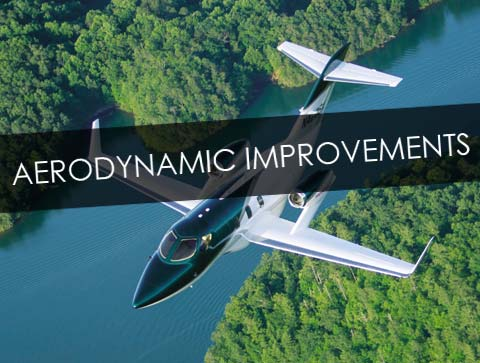 HondaJet Aerodynamic Improvements