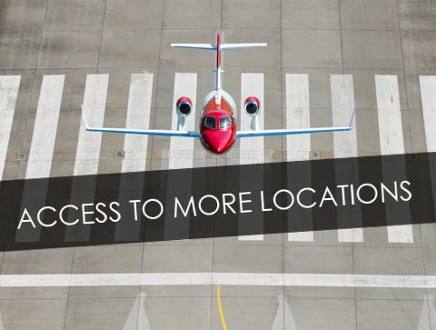 HondaJet Access More Locations