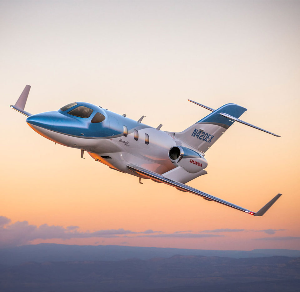 HondaJet Elite Aerodynamic Breakthrough