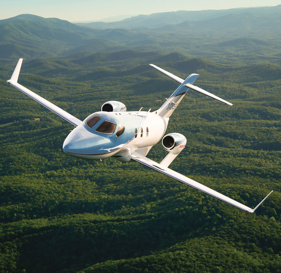 HondaJet Elite Commitment to Bluer Skies