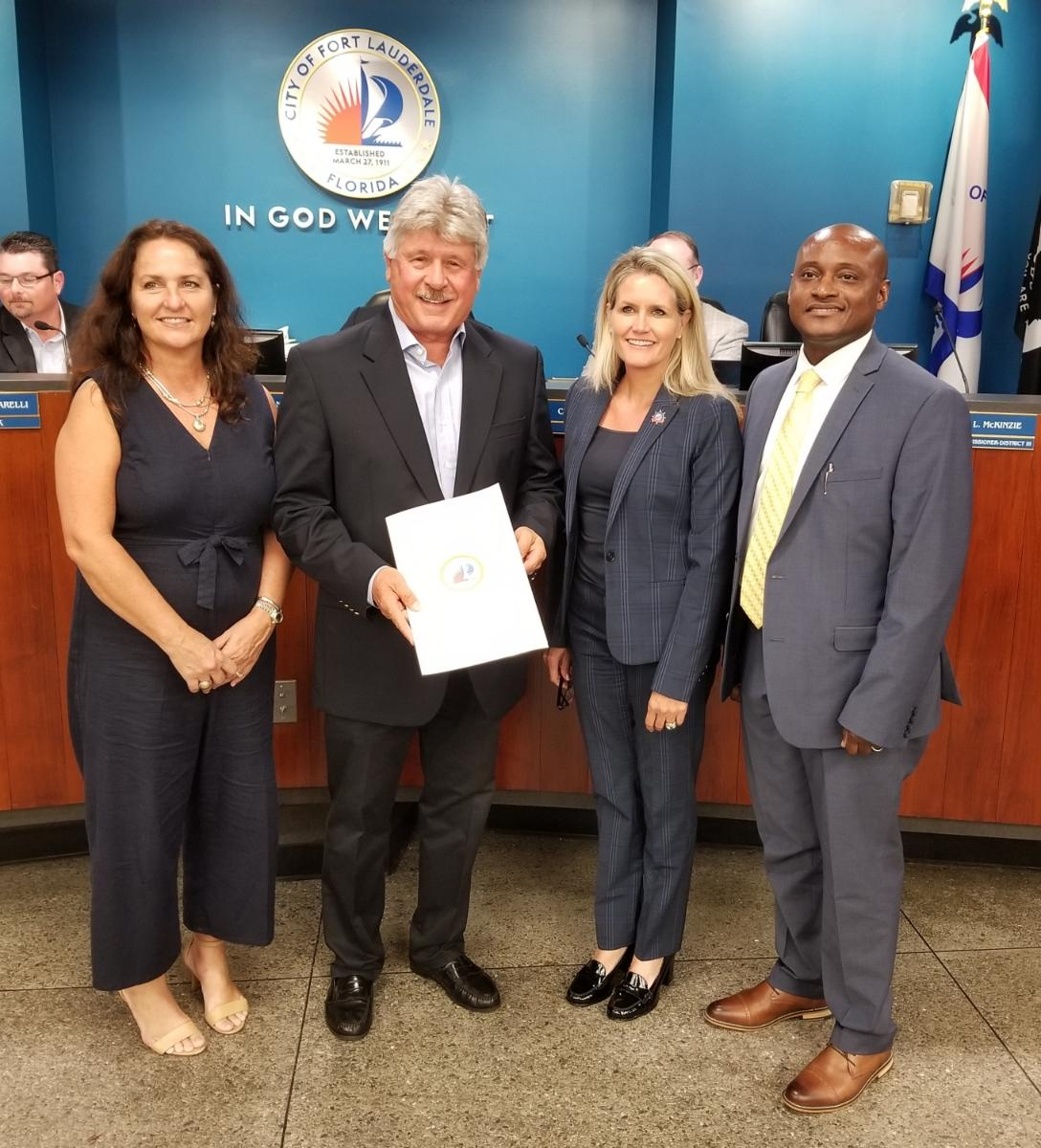 Banyan Recognized by the City of Fort Lauderdale