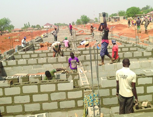 Egbe School of Nursing Construction Update