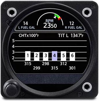 GI 275 EGT CHT Monitoring
