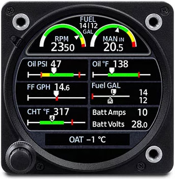 GI 275 Engine Information System