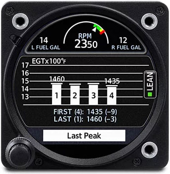 GI 275 Lean Assist Mode