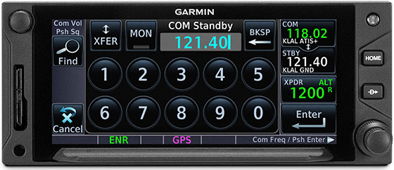GTN 650Xi Built-In Comm Transceiver