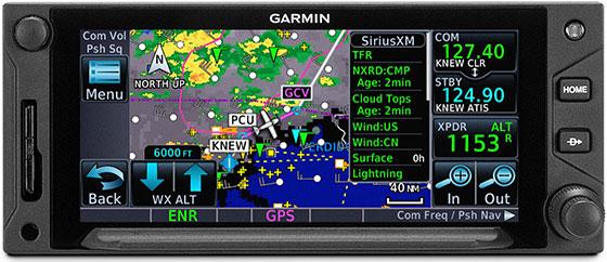 GTN 650Xi Sirius XM Service
