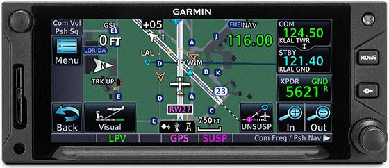 GTN 650Xi Terminal Traffic