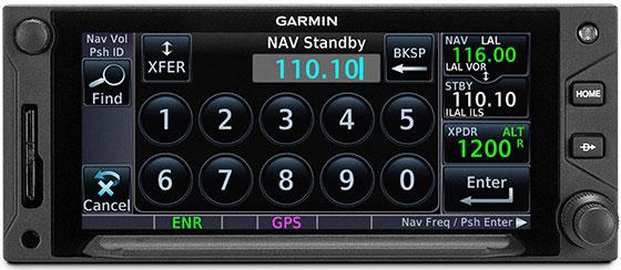 GTN 650Xi VHF Navaid Capability