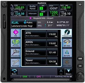 GTN 750Xi Find A Frequency