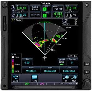 GTN 750Xi Onboard Radar