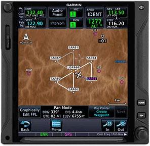 GTN 750Xi Search and Rescue