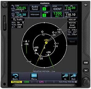 GTN 750Xi Targettrend Tracking
