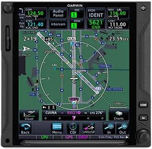 GTN 750Xi TerminalTraffic Display