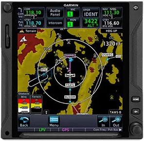 GTN 750Xi Terrain Alerting