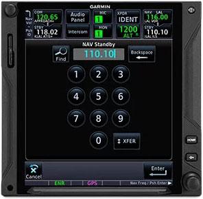 GTN 750Xi VHF Navaid Capability