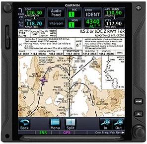 GTN 750Xi View Charts in Context